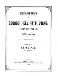 Évkönyv 1867-1868
