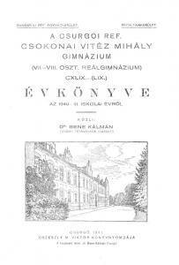 Évkönyv 1940-1941